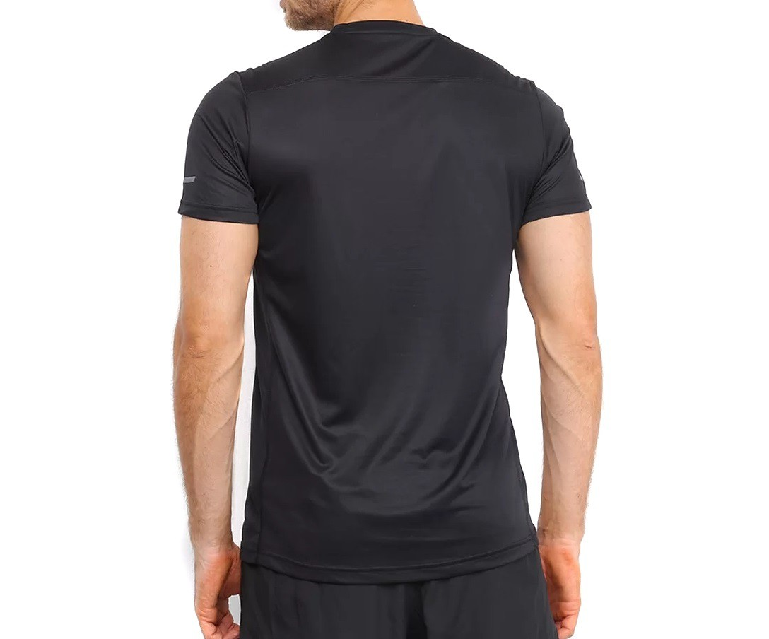 Camiseta Adidas Own The Run Masculina Preto e Branco