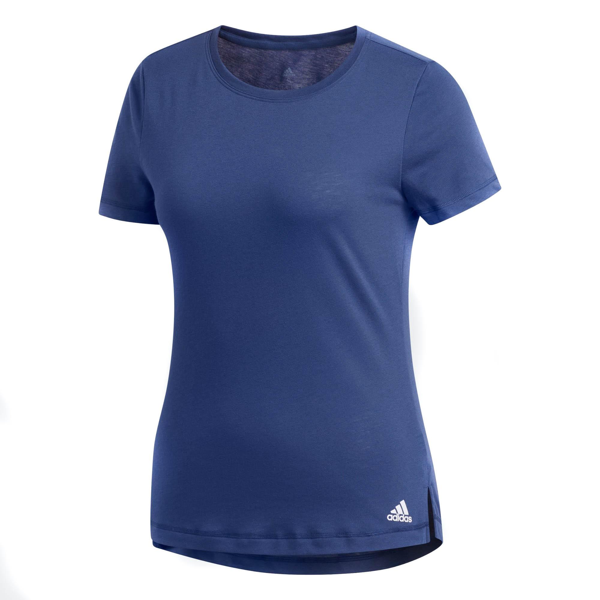 Camiseta Adidas Prime Feminina Azul