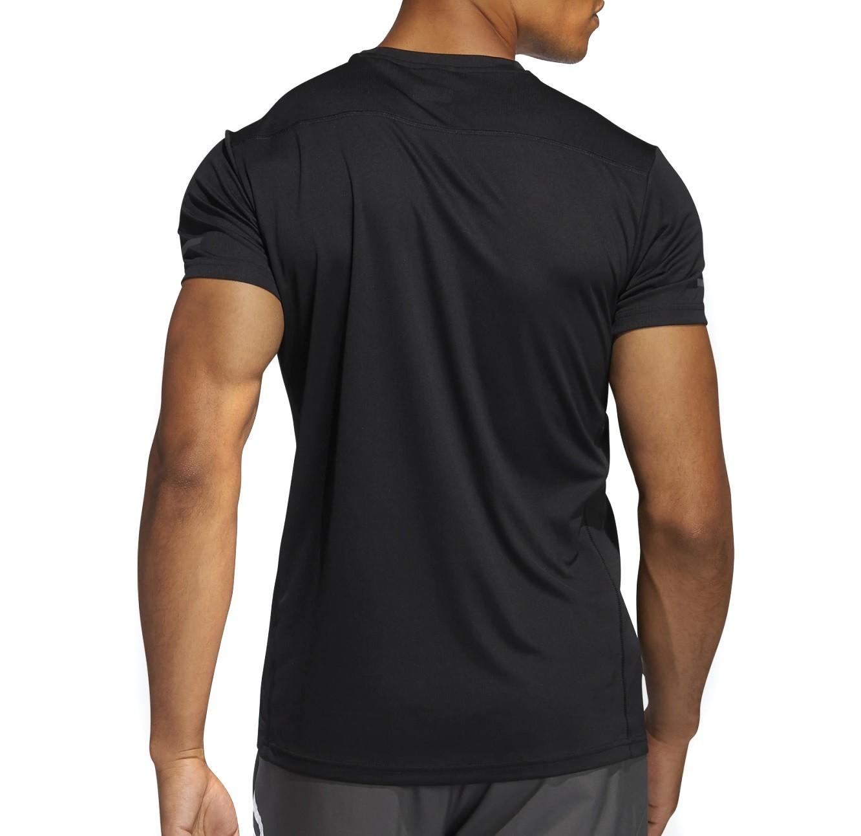 Camiseta Adidas Run It Masculina Preto