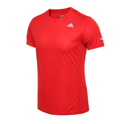 Camiseta Adidas Run It Masculino Vermelho