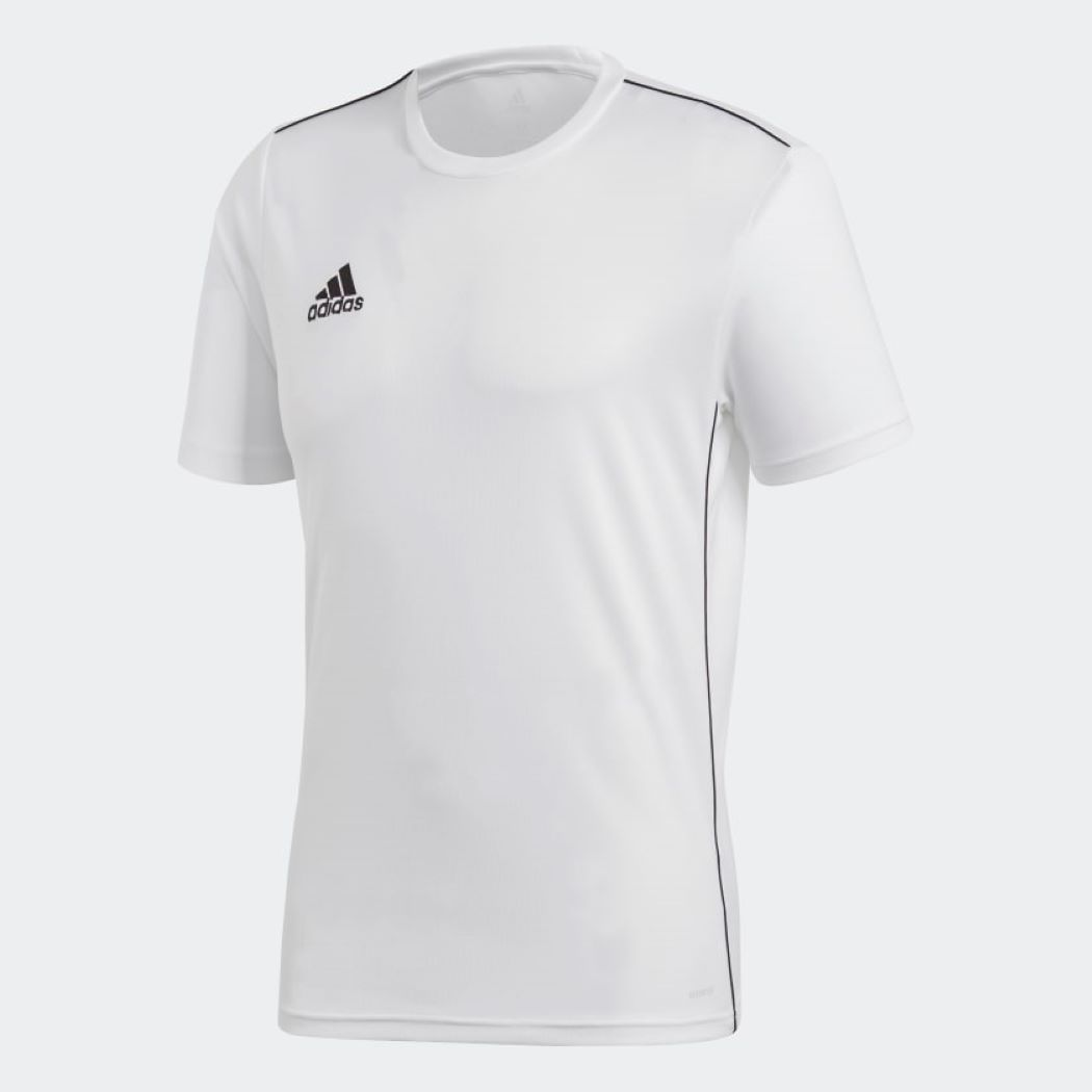 Camiseta Adidas Treino Core 18 Branco