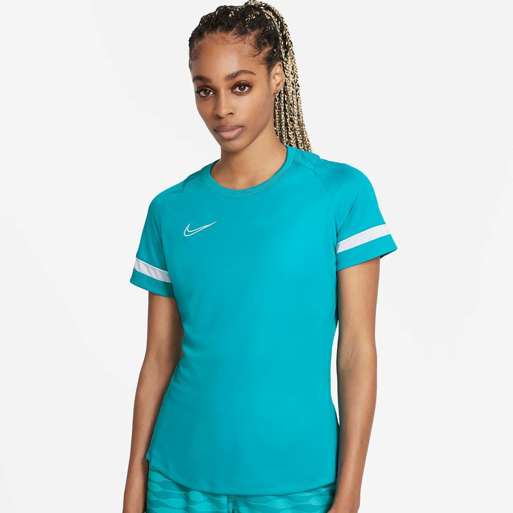 Camiseta Nike Dri-Fit Academy Feminina Azul