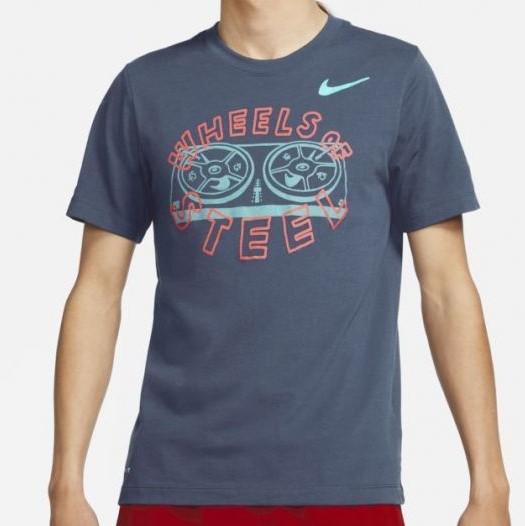 Camiseta Nike Dri-Fit Maculina Azul Marinho