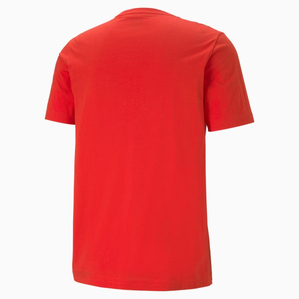 Camiseta Puma Essentials Logo Masculina Vermelho