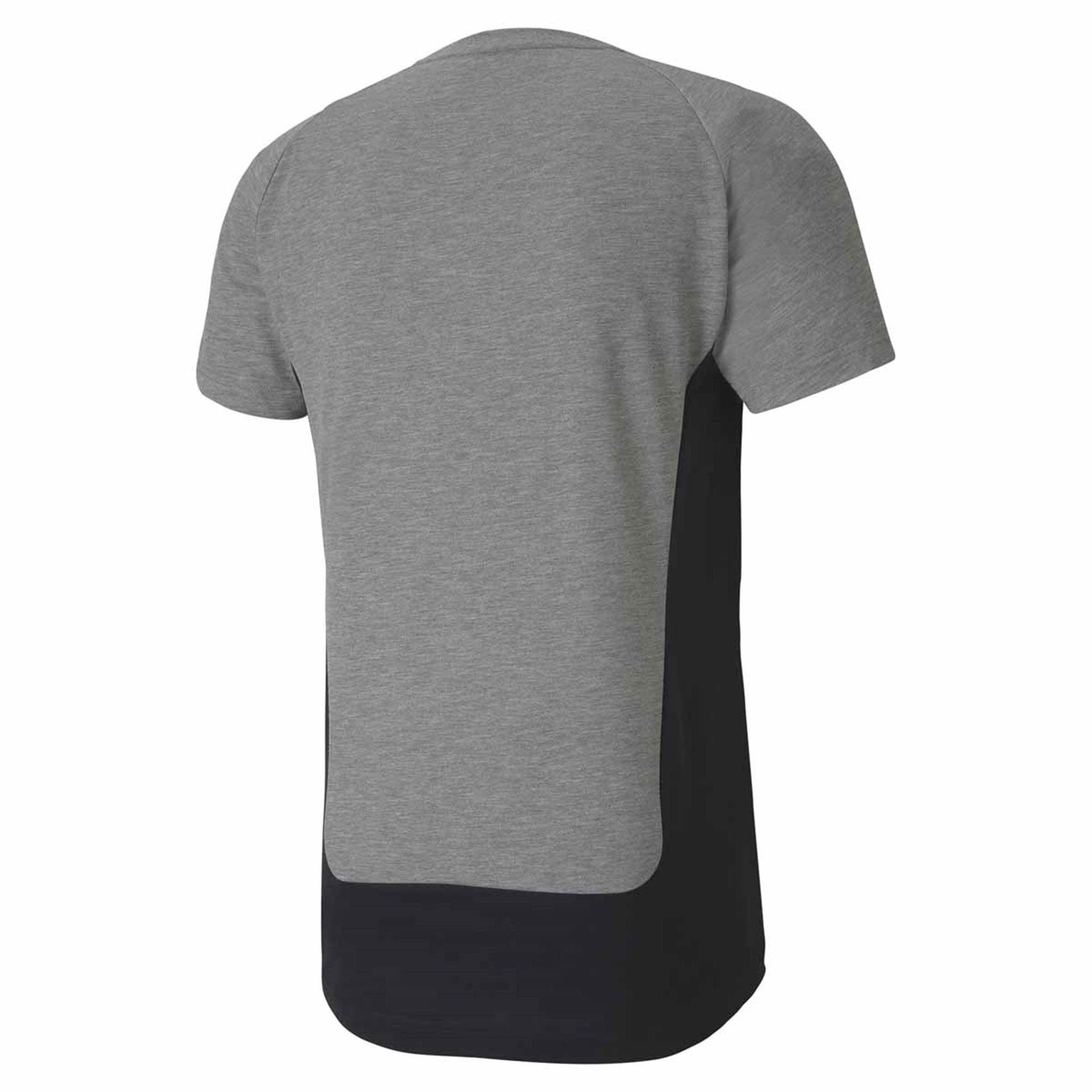 Camiseta Puma Evostripe Tee Masculina Cinza
