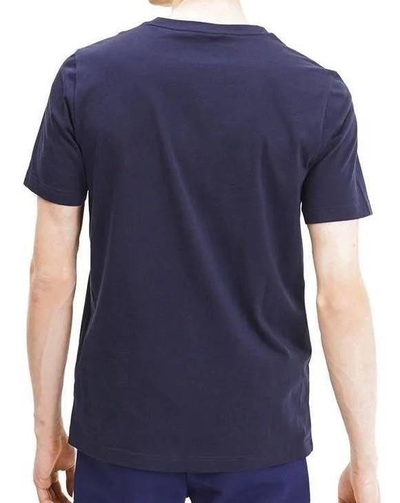Camiseta Puma Modern Sports Tee Masculina Marinho e Branco