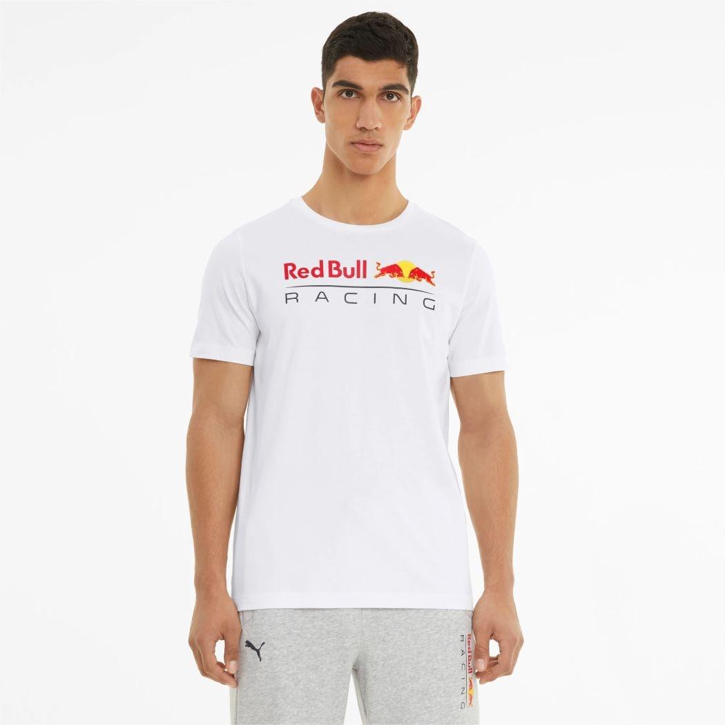 Camiseta Puma Red Bull Logo Branco Masculina