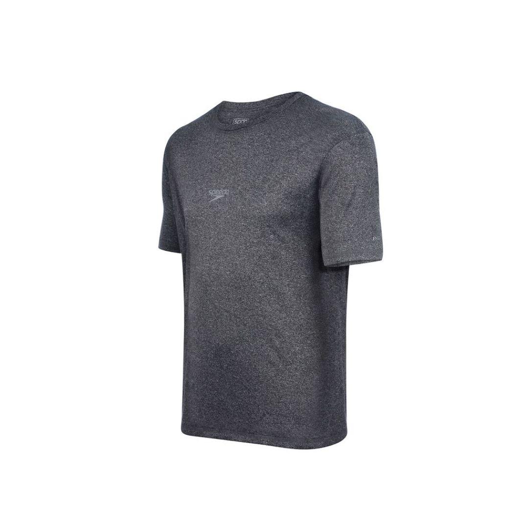 Camiseta Speedo Blend Masculina Mescla Cinza