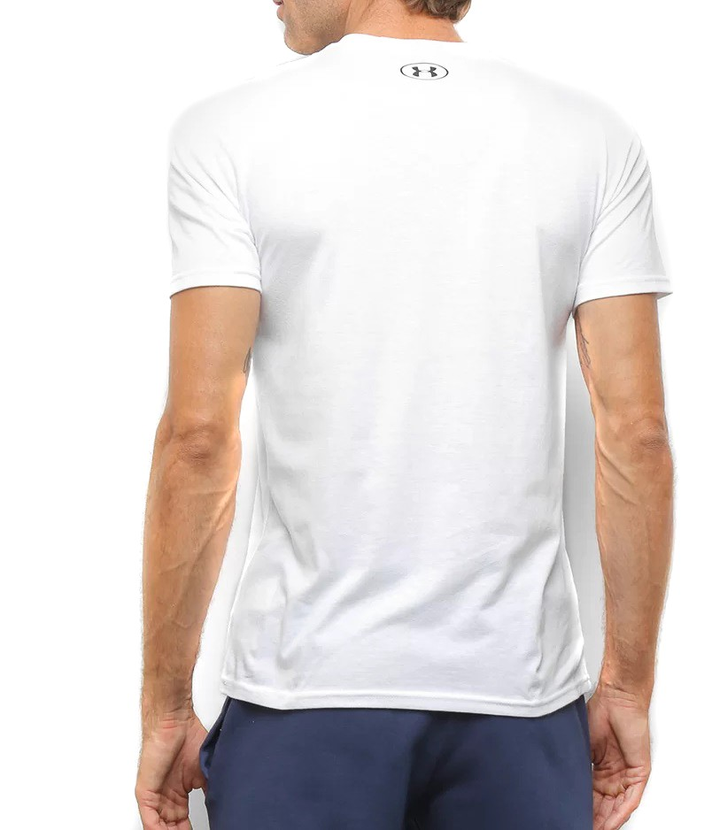 Camiseta Under Armour Sportstyle Masculina Branco