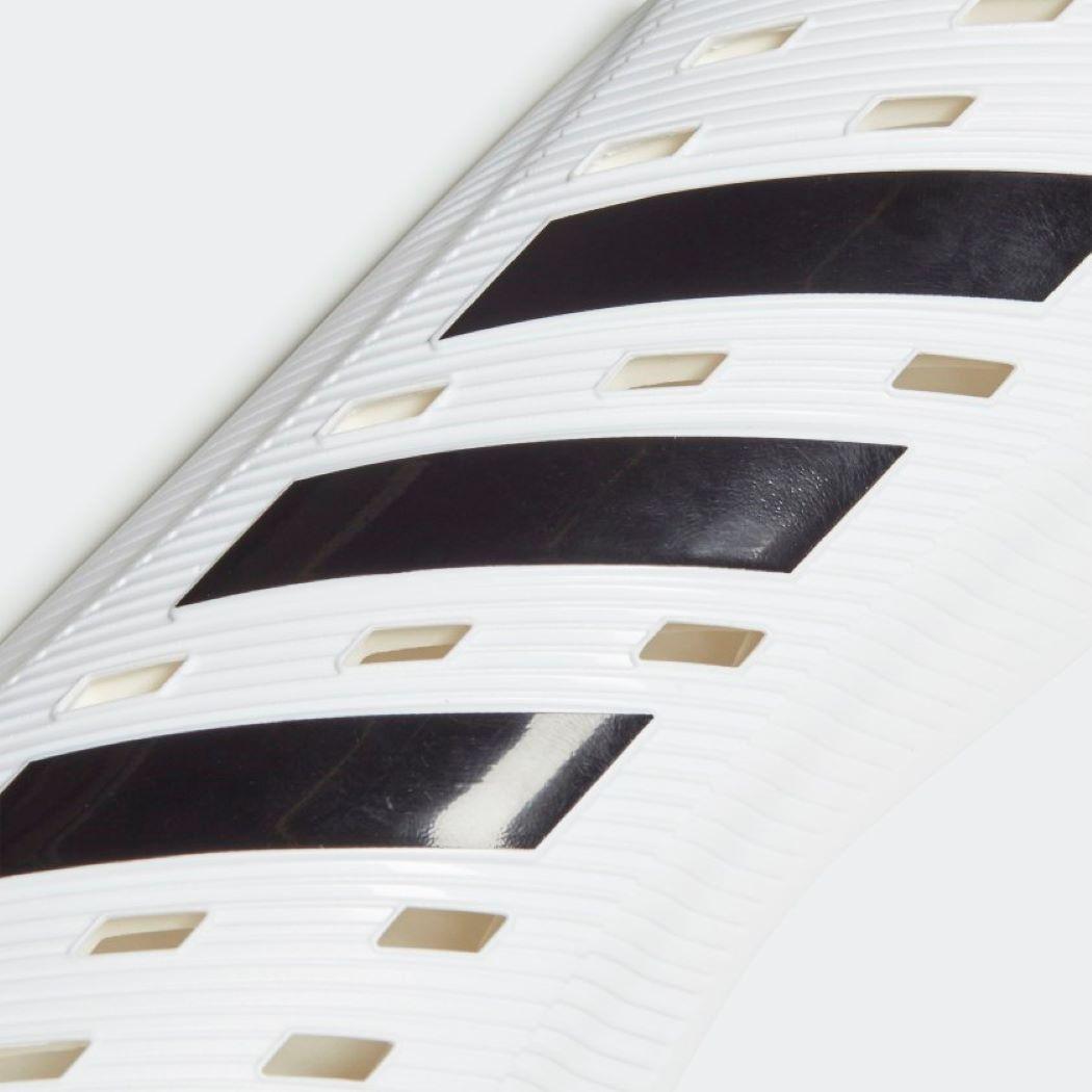 Caneleiras Adidas Club SG Branco e Preto