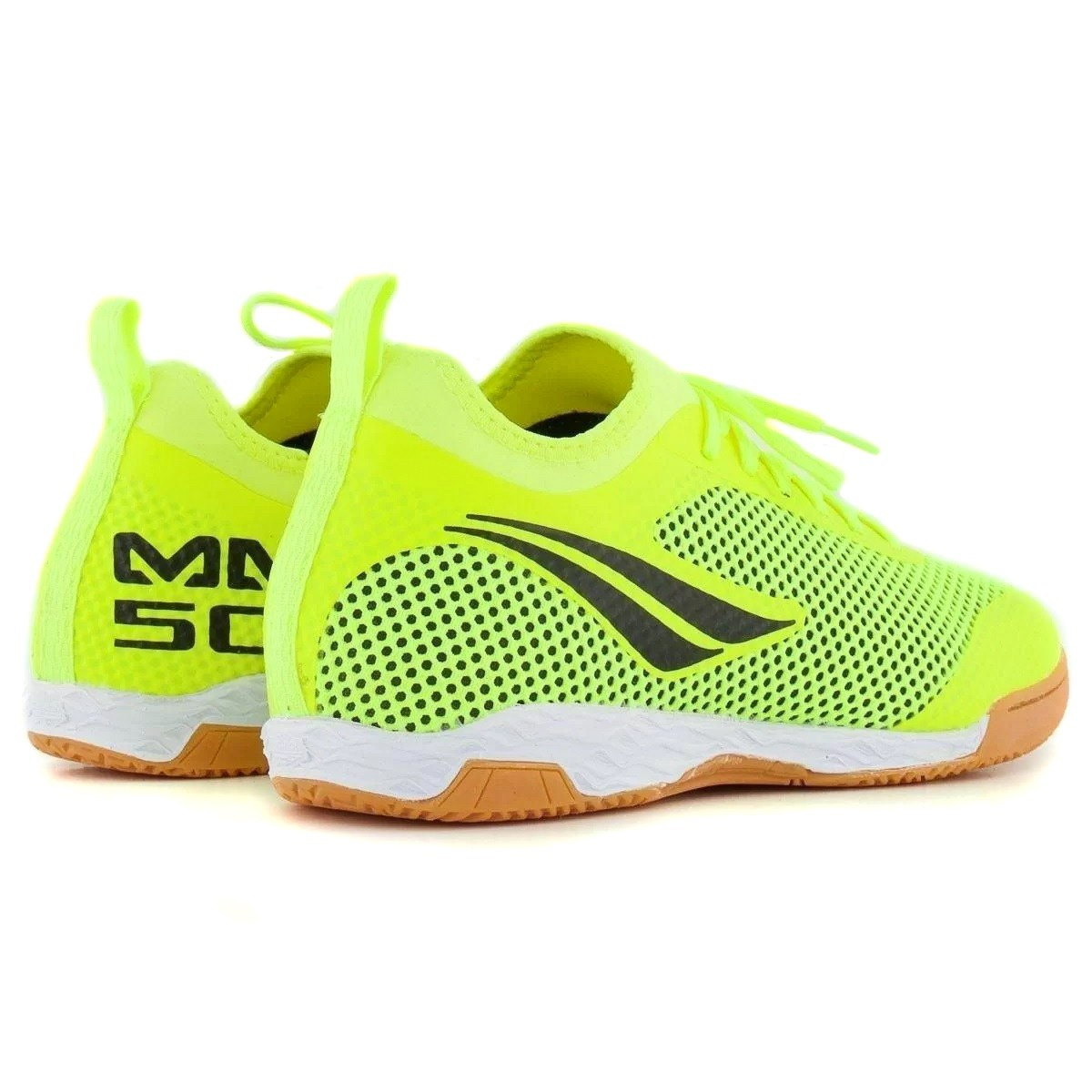 Chuteira Futsal Penalty Max 500 IX Locker Verde e Preto