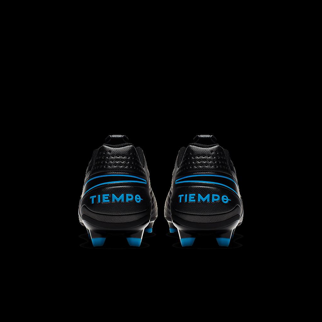 Chuteira Nike Tiempo Legend 8 Club Preto e Azul