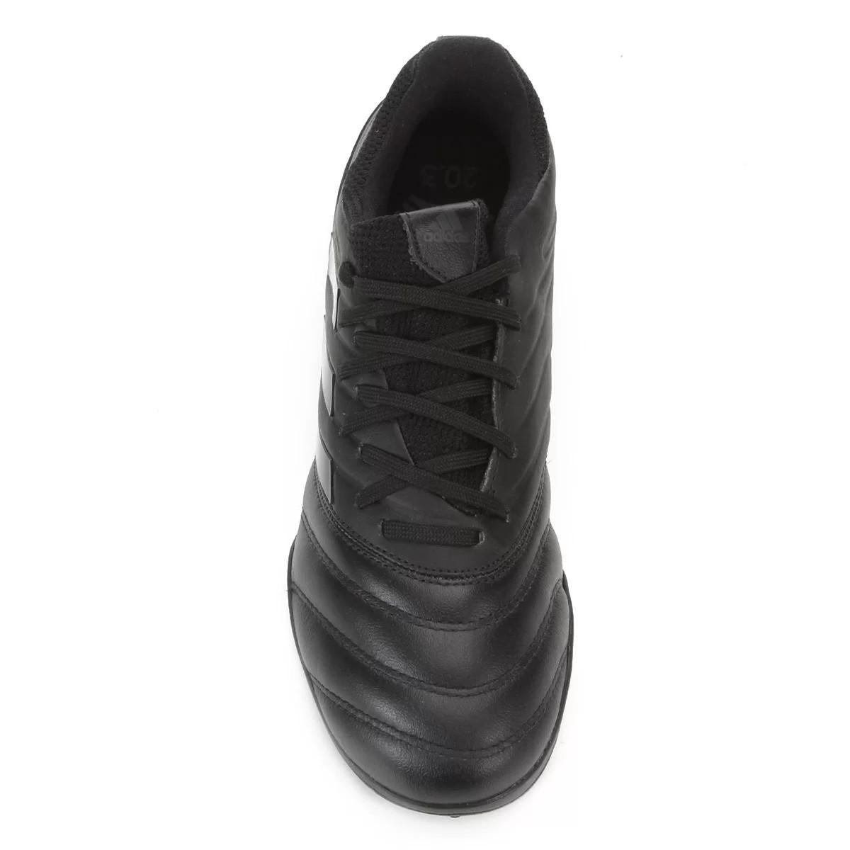 Chuteira Society Adidas Copa 20.3 TF Preto