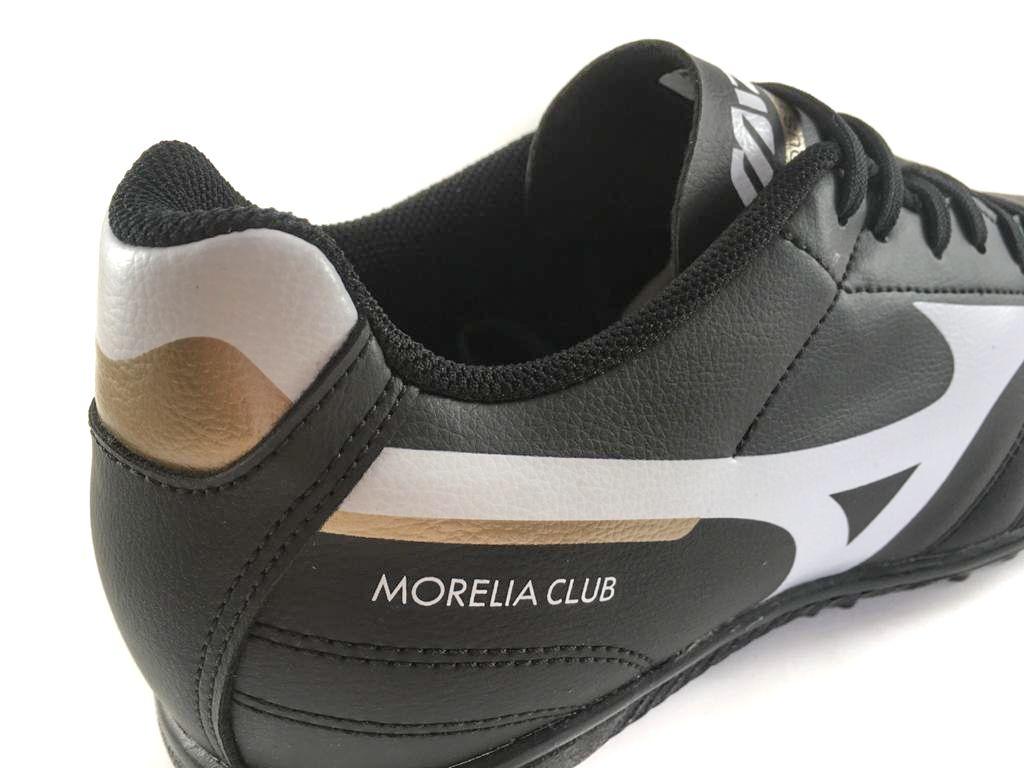 Chuteira Society Mizuno Morelia Club AS Preto e Branco