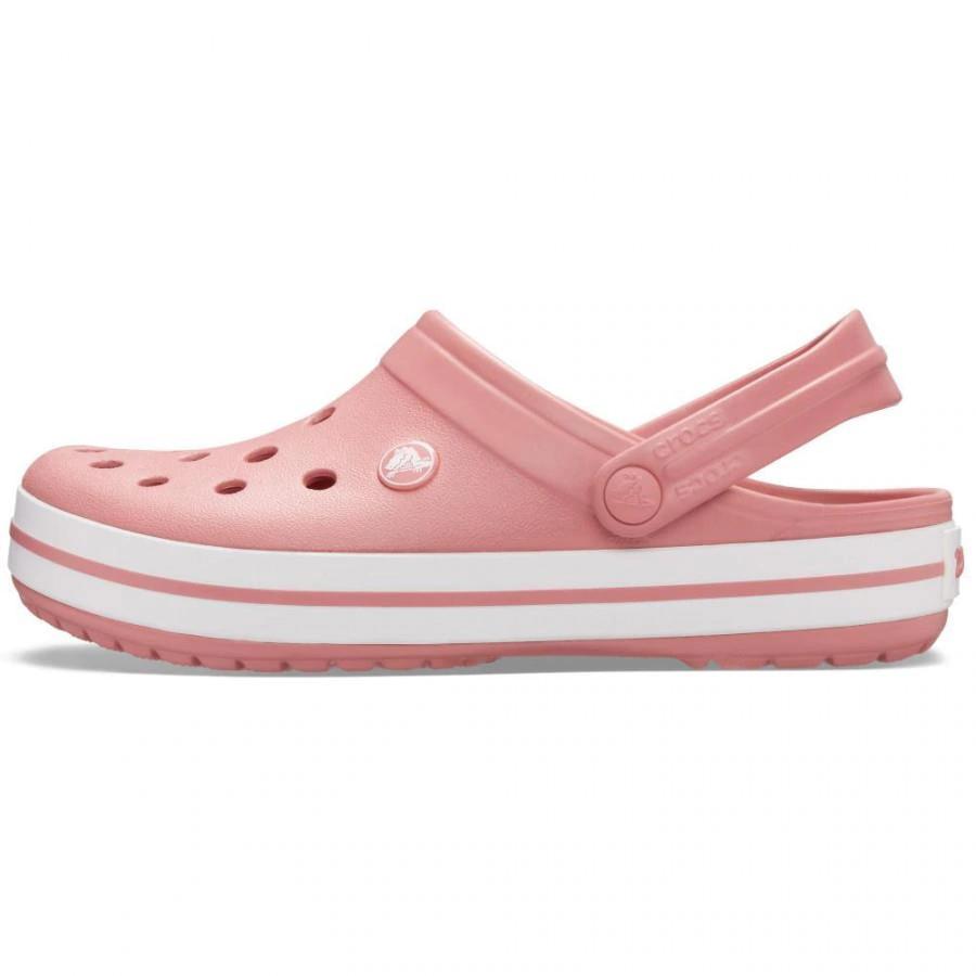 Crocs Crocband Clog Feminino Rosa e Branco