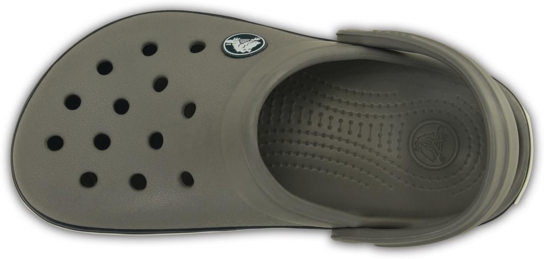Crocs Crocband Clog Infantil Cinza e Preto