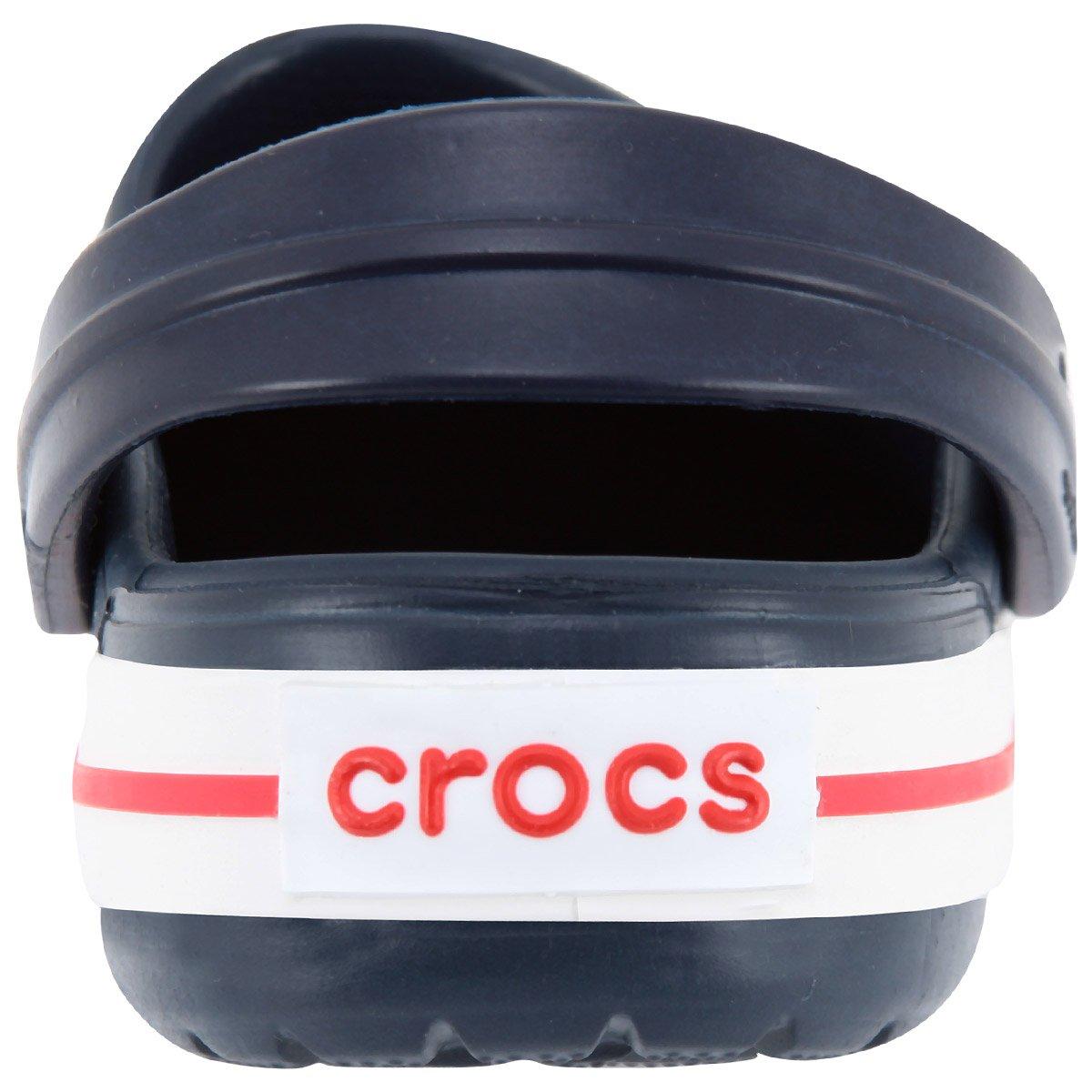 Crocs Crocband Clog Infantil Marinho e Vermelho