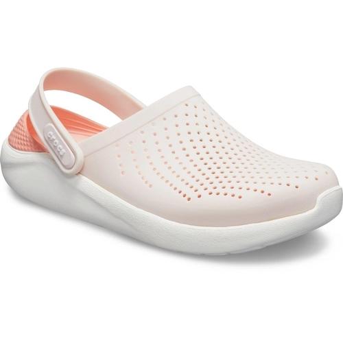 Crocs LiteRide Clog Feminino Branco e Rosa