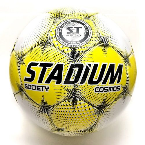 Kit 2 Bolas Futebol Society Cosmos IX Stadium - Penalty