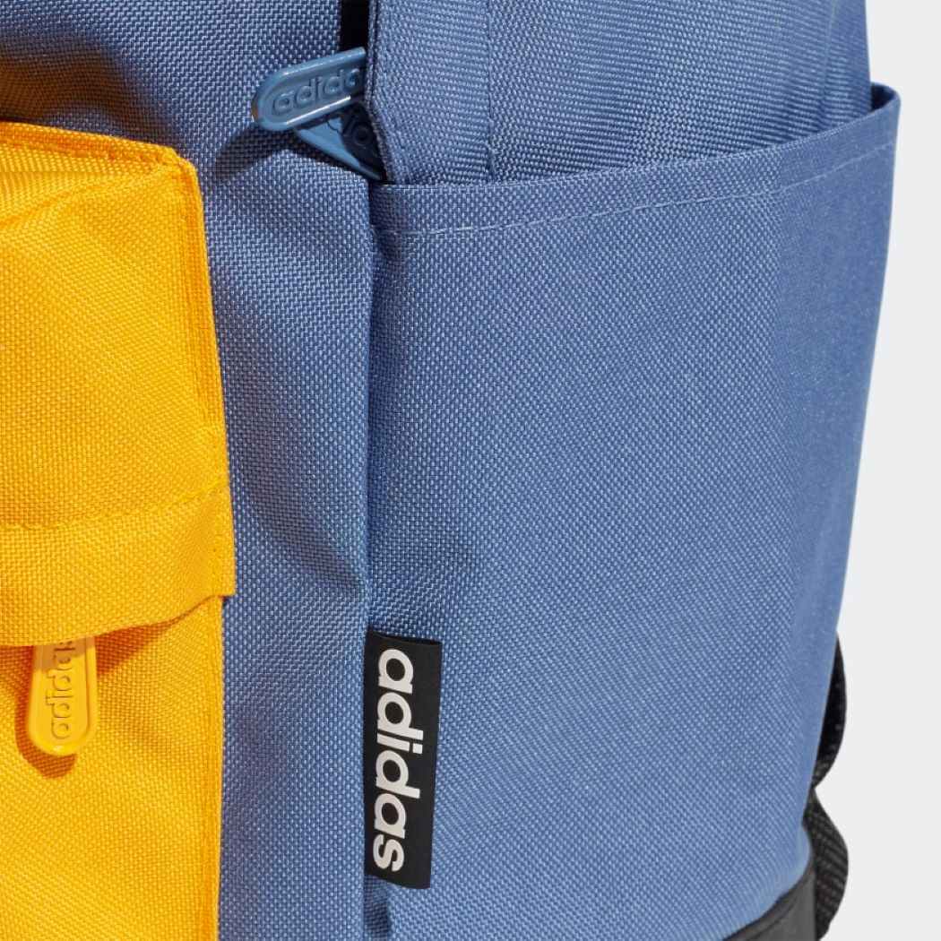 Mochila Adidas Classic Extra Grande Azul e Amarelo