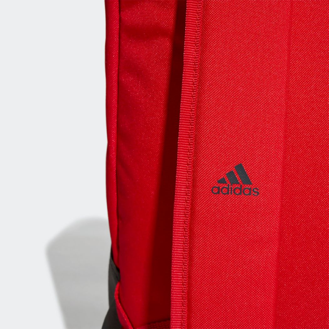 Mochila Adidas Parkhood Cinza e Vermelho