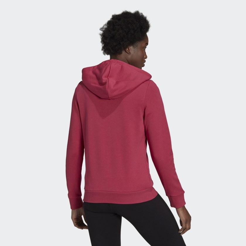 Moletom Adidas Linear Feminino Rosa