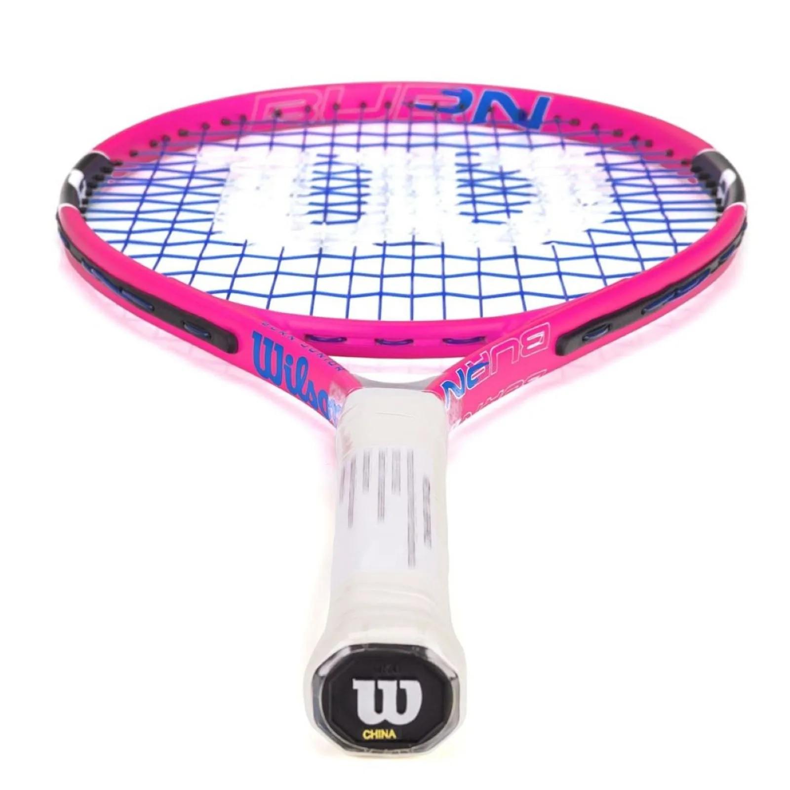 Raquete Tênis Wilson Burn 23 Pink Infantil