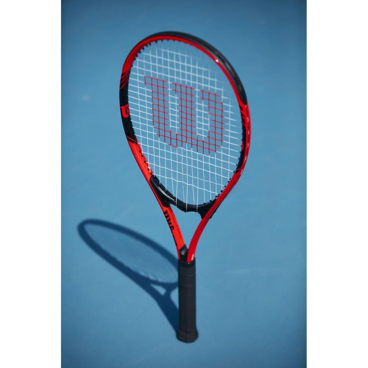 Raquete Wilson Federer New Vermelho e Preto