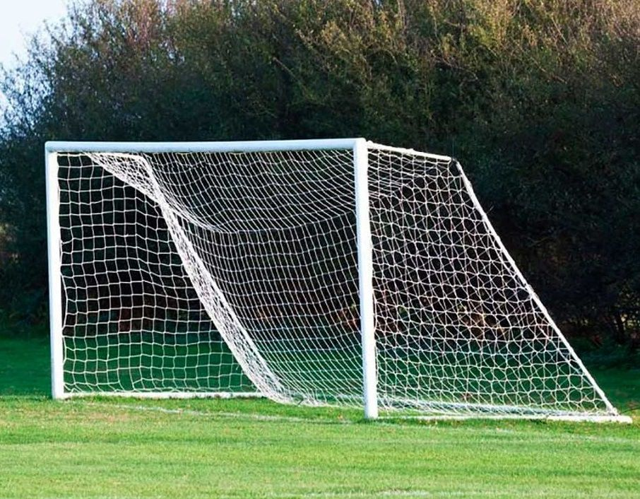 Rede Futebol de Campo Fio 2,5 mm Seda Master Rede - 1 Par