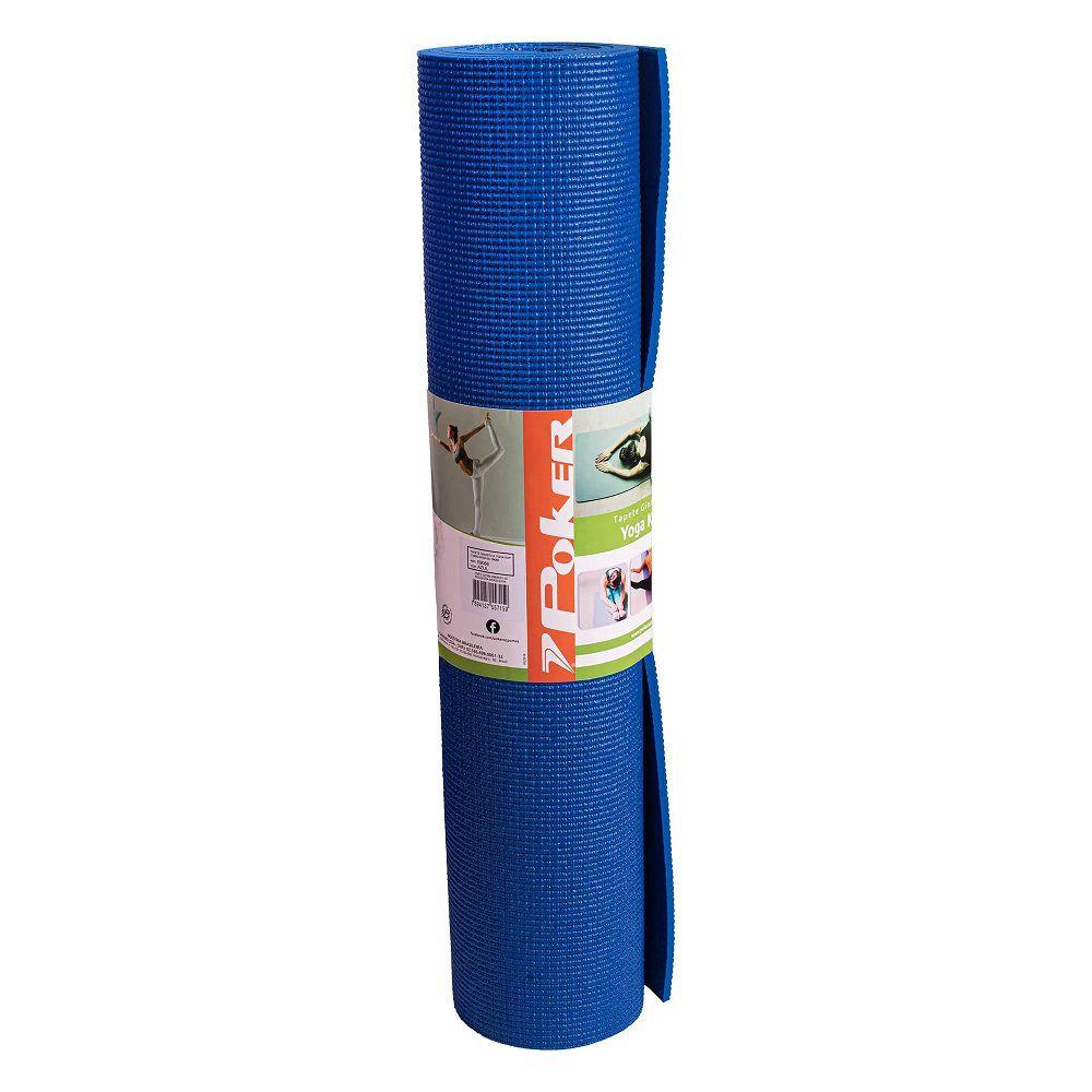 Tapete de Yoga e Pilates Conforto Extra Poker Kap 166 X 60 cm