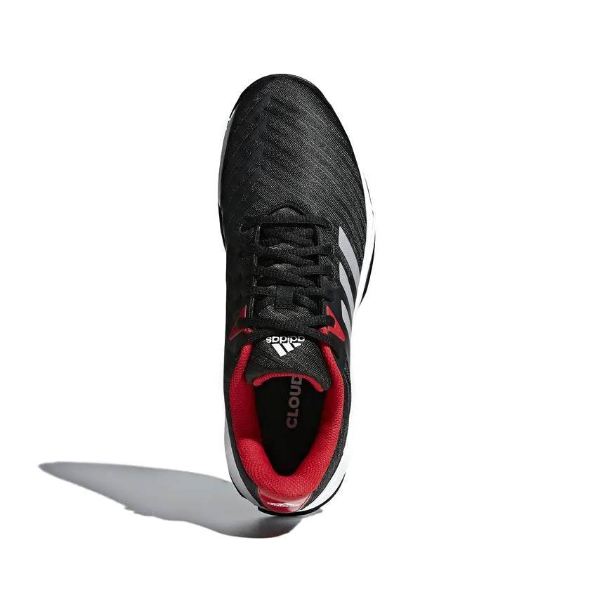 Tênis Adidas Barricade Court 3 Masculino Preto e Vermelho