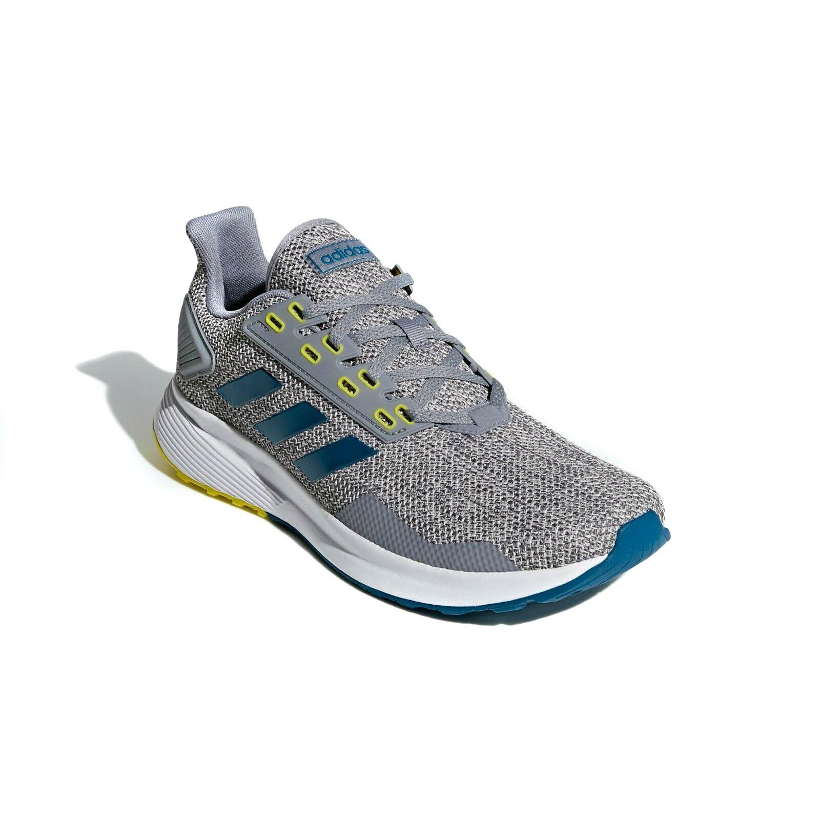 Tênis Adidas Duramo 9 Masculino Cinza e Azul