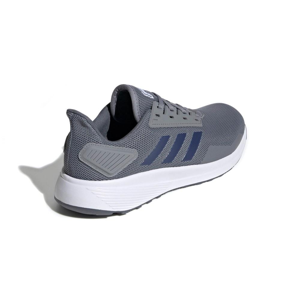 Tênis Adidas Duramo 9 Masculino Cinza e Marinho