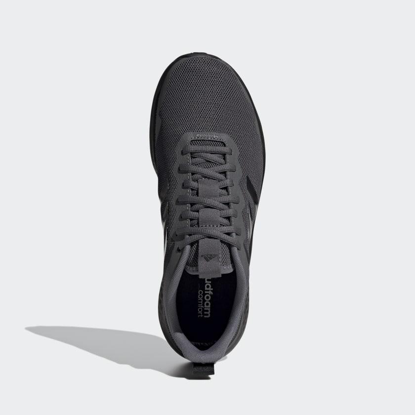 Tênis Adidas Fluidstreet Masculino Cinza e Preto