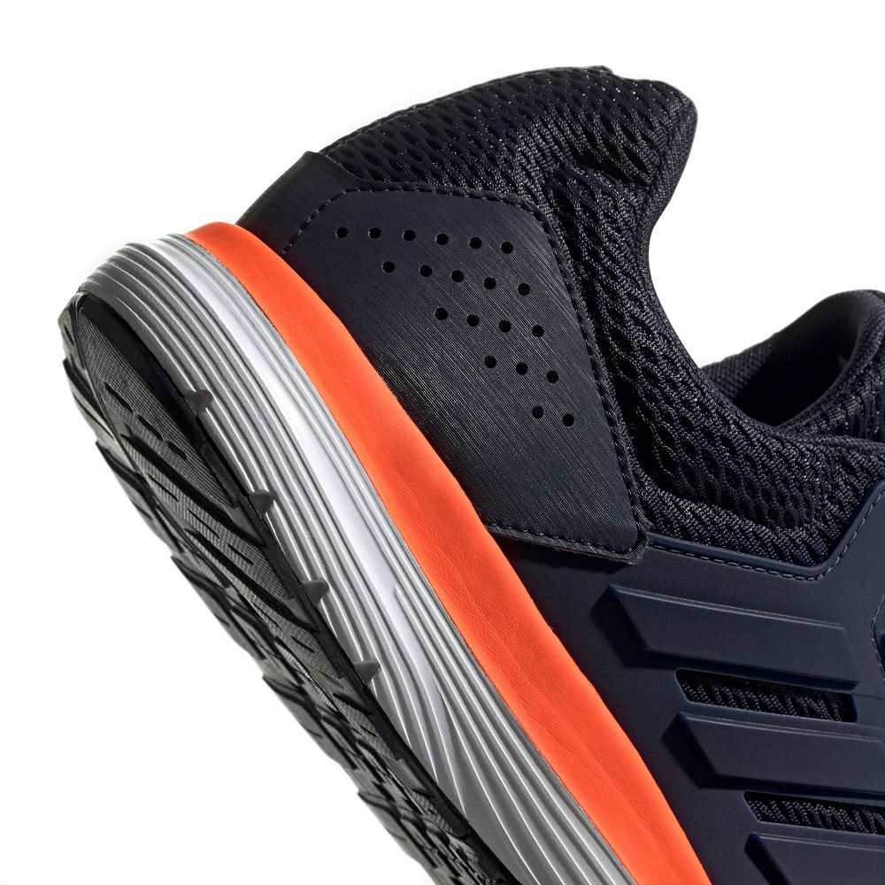 Tênis Adidas Galaxy 4 Masculino Marinho e Laranja