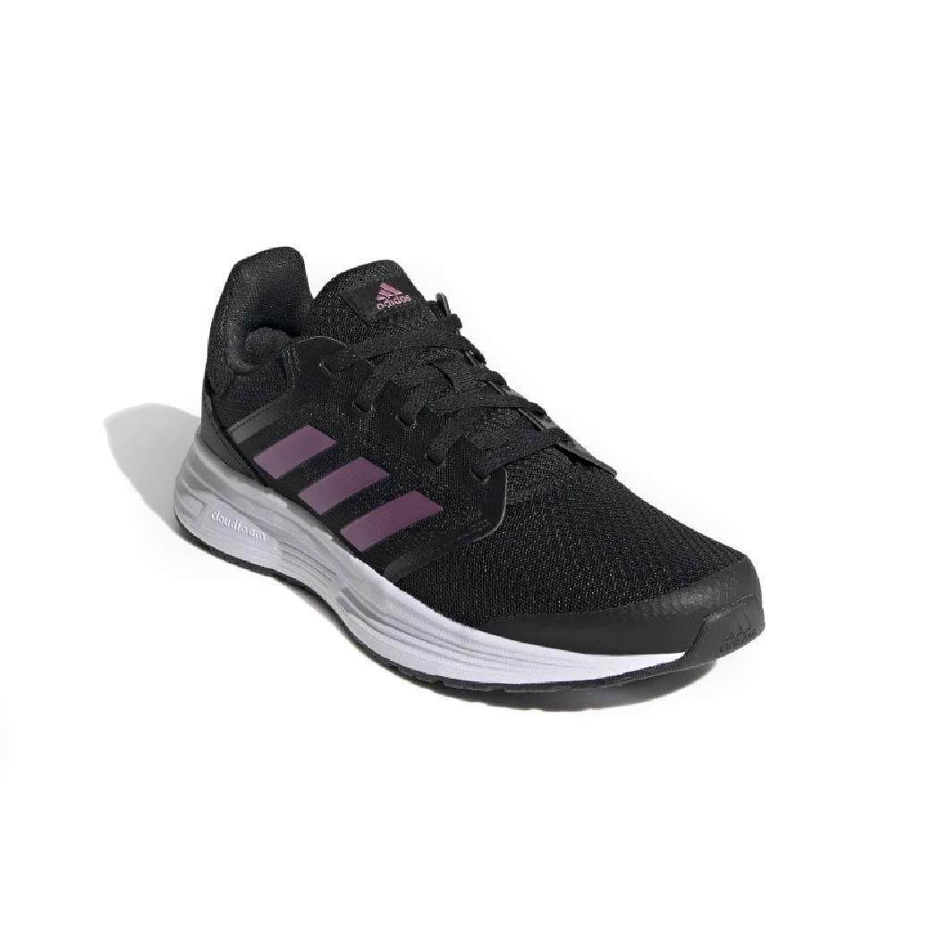 Tênis Adidas Galaxy 5 Feminino Preto e Roxo