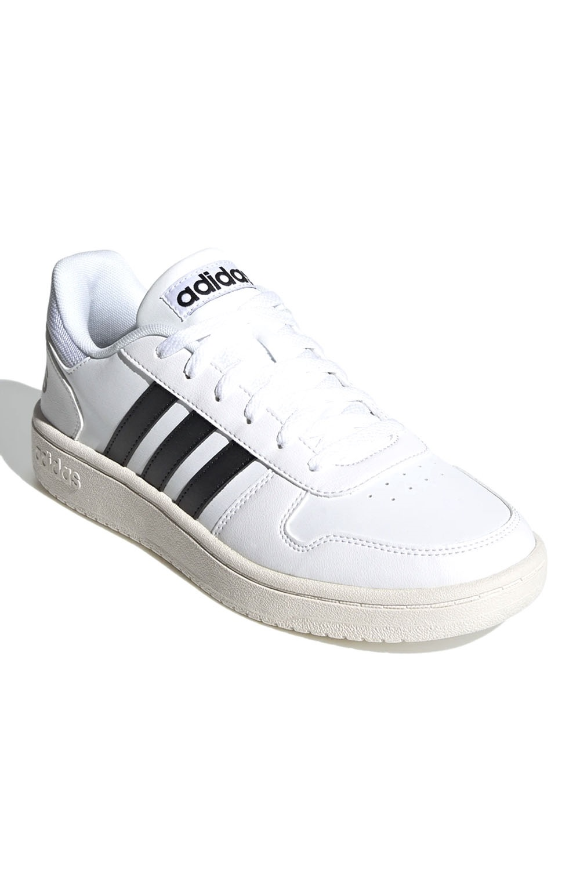 Tênis Adidas Hoops 2.0 Masculino Branco e Preto