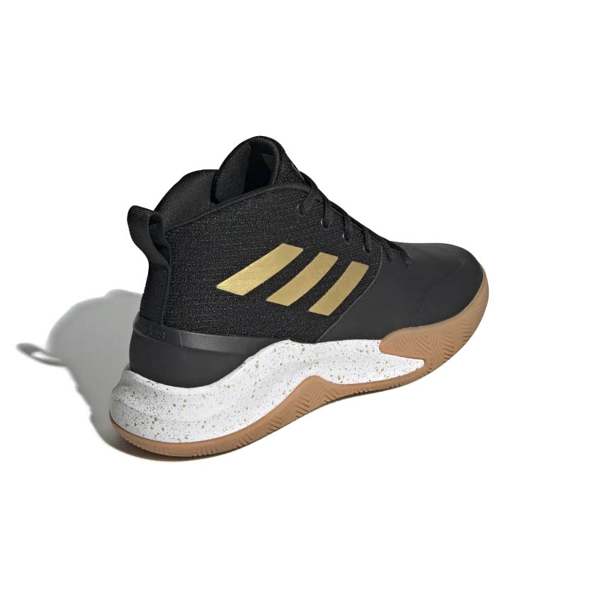Tênis Adidas Own The Game Masculino Preto e Dourado