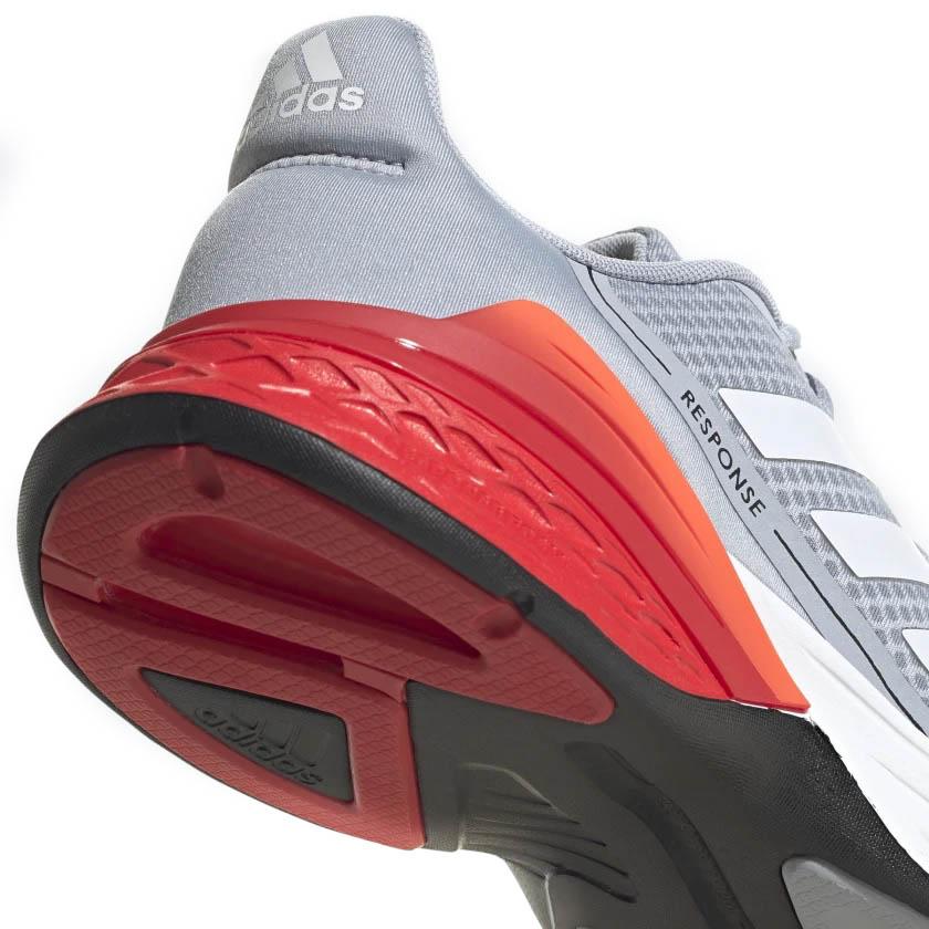 Tênis Adidas Response SR Masculino Cinza e Vermelho