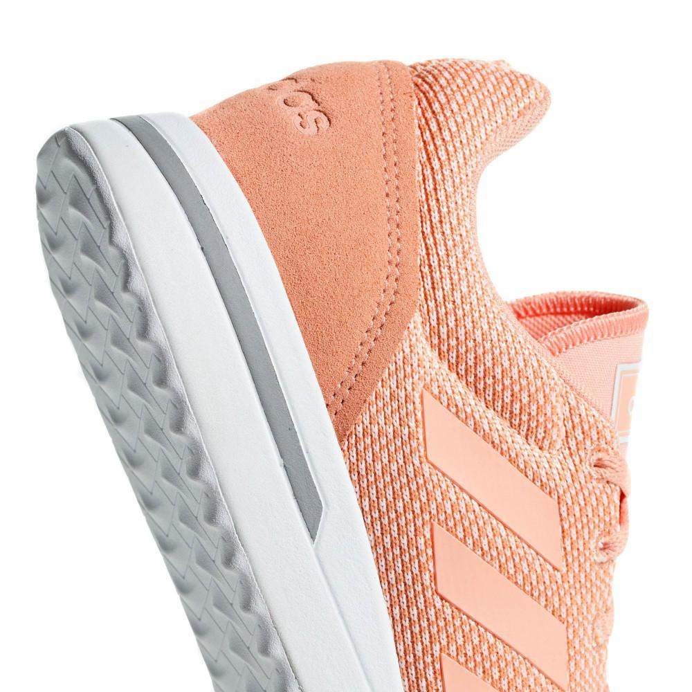 Tênis Adidas Run 70s Feminino Salmão e Branco