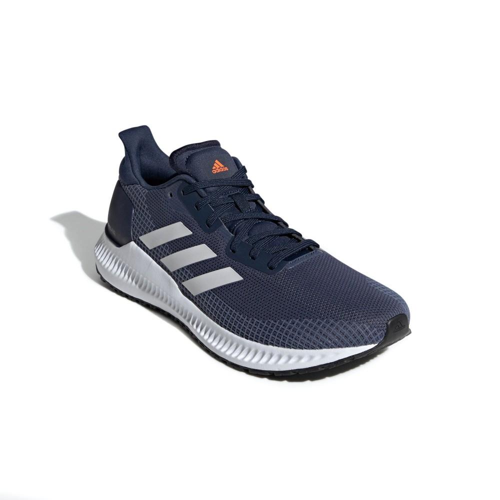Tênis Adidas Solar Blaze Masculino Azul e Branco