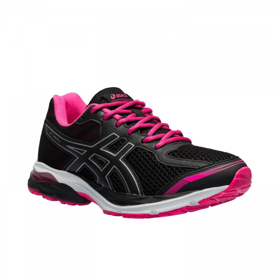 Tênis Asics Gel Nagoya 2 Feminino Preto e Pink
