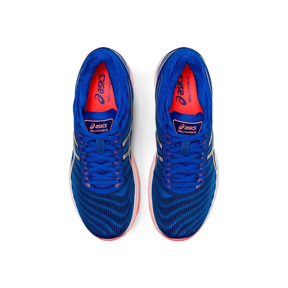 Tênis Asics Gel Nimbus 22 Masculino Azul e Laranja