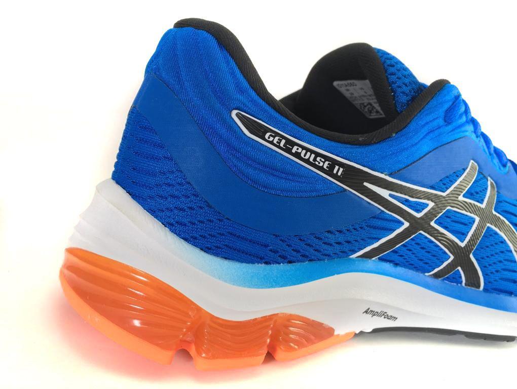 Tênis Asics Gel Pulse 11 Masculino Azul e Laranja