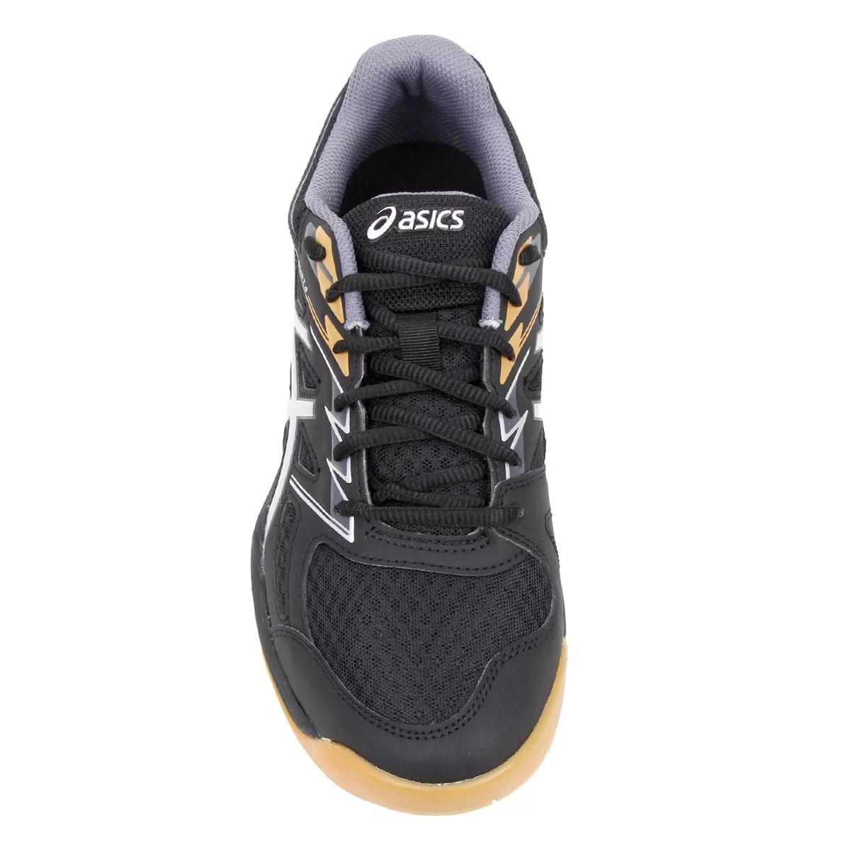 Tênis Asics Upcourt 4 Masculino Preto e Prata