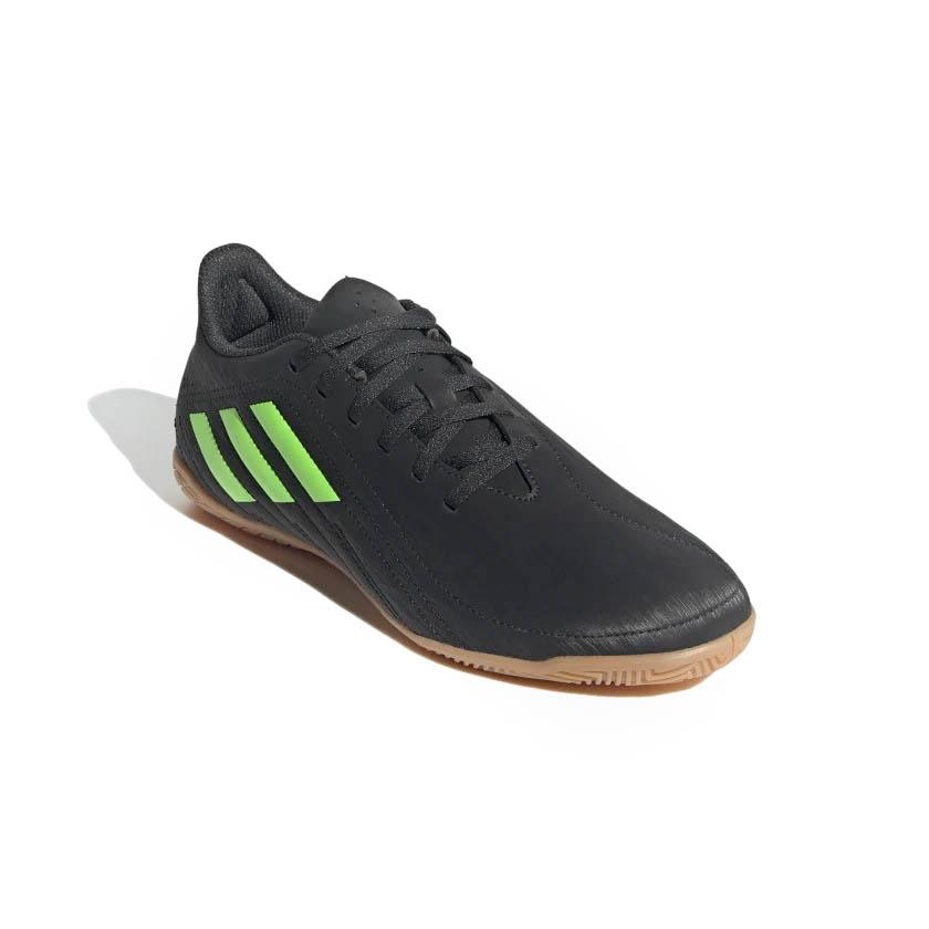 Chuteira Futsal Adidas Deportivo IN Masculino Preto e Verde
