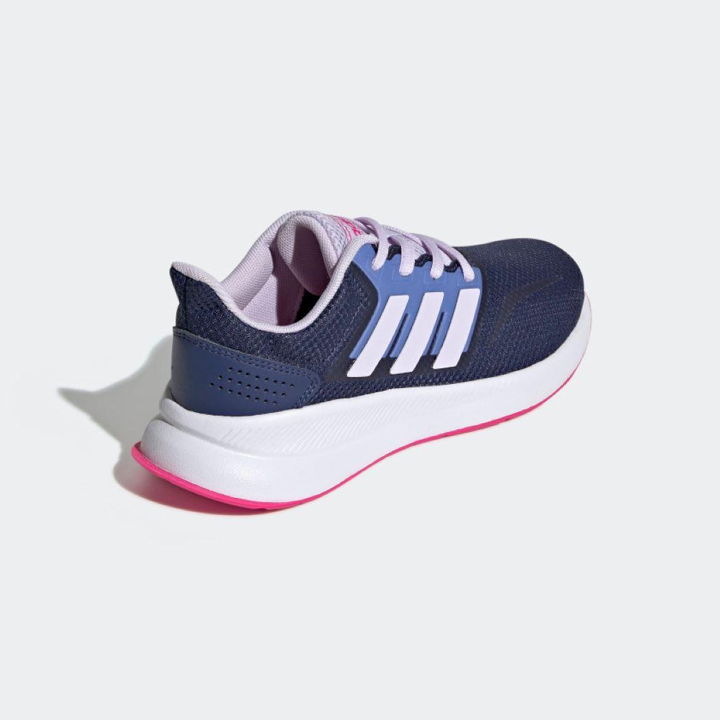 Tênis Infantil Adidas Runfalcon Azul e Rosa