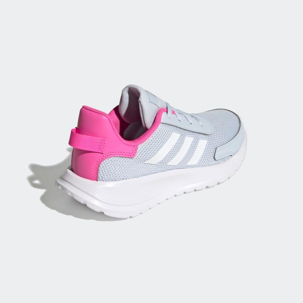 Tênis Infantil Adidas Tensor Cinza e Rosa
