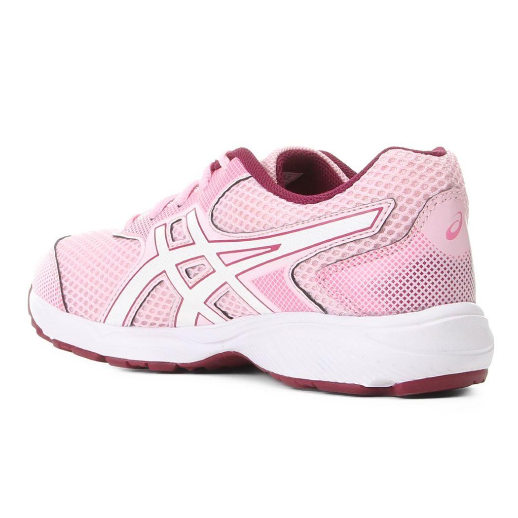 Tênis Infantil Asics Buzz 4 GS Rosa e Branco