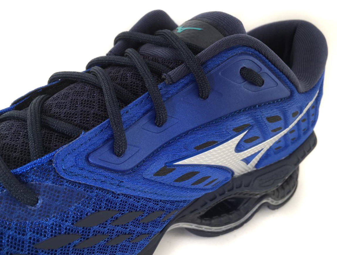 Tênis Mizuno Wave Creation 21 Masculino Azul e Preto
